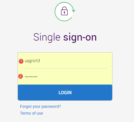 Single sign-on fields